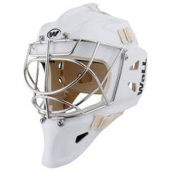 WALL W12 Cat Eye white Senior Goalie Mask