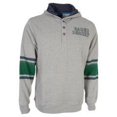 Bauer STRIPE HENLEY PO HOODY Senior Džemperis