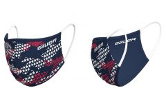 Bauer Reversible Stars Face Mask