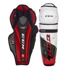 CCM JetSpeed FT4 PRO Junior Hokeja Kājsargi