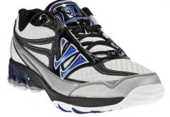 Warrior Shooter 3 Senior White/Blue/Black Shoes