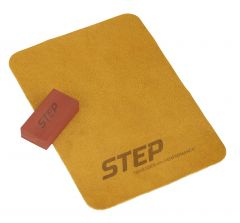CCM STEP Honing Stone and Cloth Kit Skate Accessories