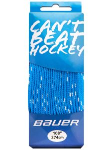 Bauer HOCKEY FIGHTS BACK BLU Skate Laces